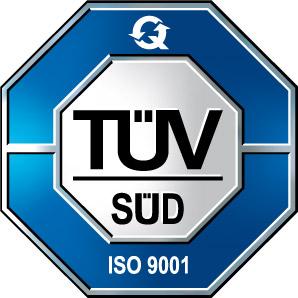 TÜVSÜD ISO9001